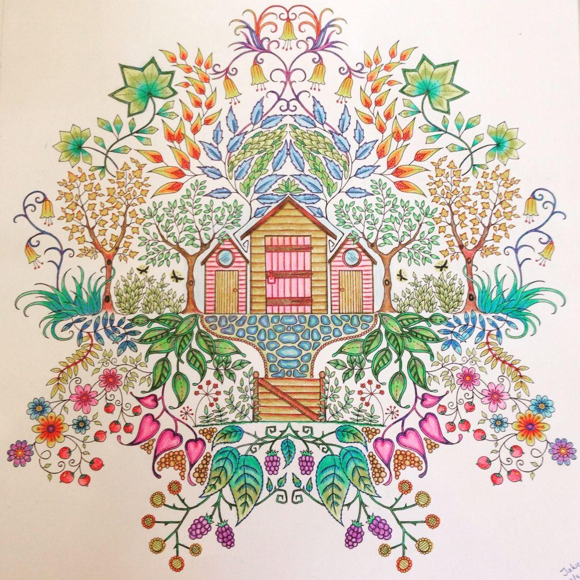 Secret Garden Colouring Book By Johanna Basford Art Hobby Secret Garden Coloring Book Coloring Books Secret Garden Colouring
