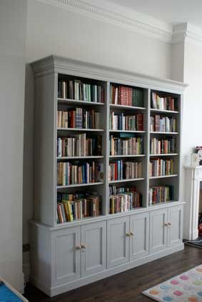 Large Bookcase For A House In Hammersmith