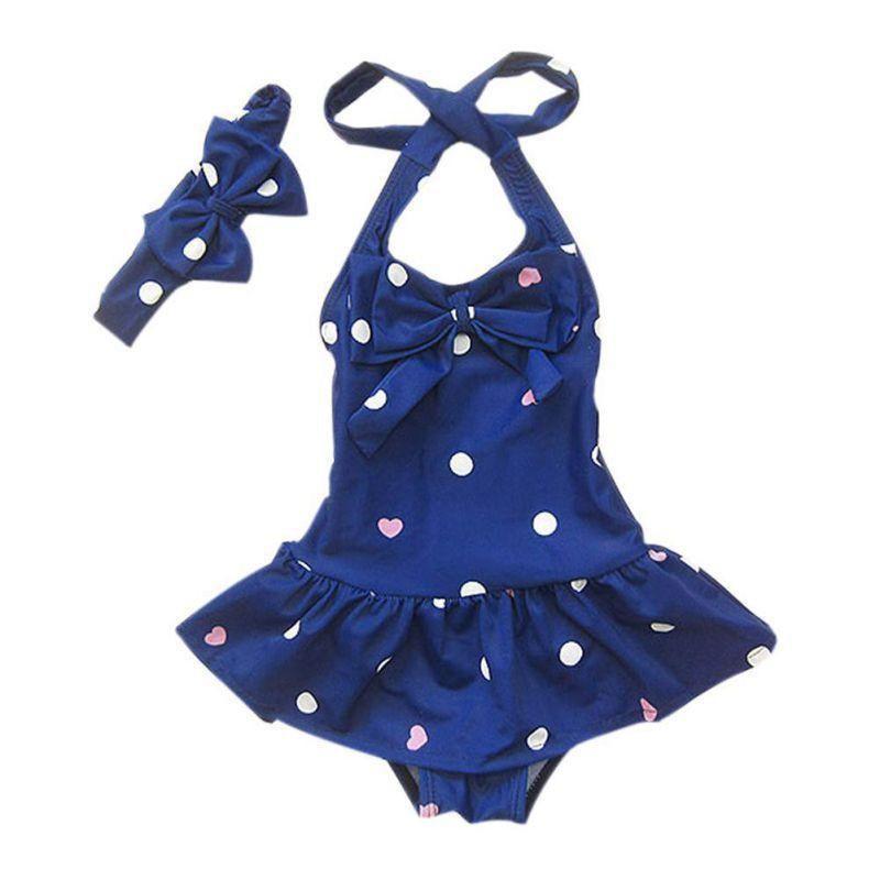 6a6b1dc7b1dd Polka Dot Swimsuit Set. Polka Dot Swimsuit Set Baby Girl Swimwear