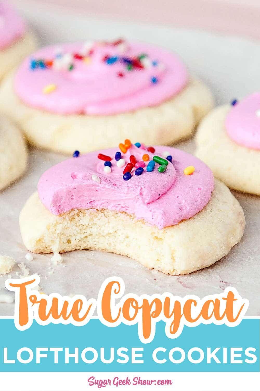 Authentic Copycat Lofthouse Cookie Recipe Copycat Sugar Geek Show Recipe In 2020 Lofthouse Cookie Recipe Copycat Lofthouse Cookie Recipe Cookie Recipes
