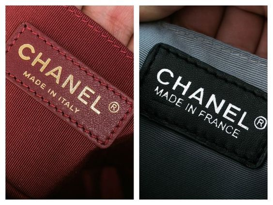 How to spot a fake chanel boy bag  178c1afa8ce6a