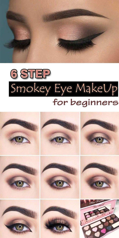 Cómo hacer ojos ahumados ~ Mejor maquillaje de ojos ahumados – Tutorial de maquillaje | balkonmobelx