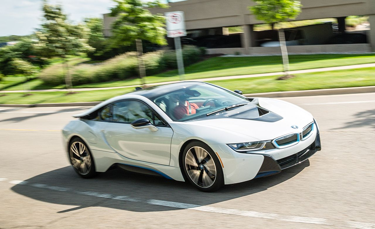 From its concept-car styling to its laser headlights, the BMW i8 is a sight to behold. Read our full test and see photos at Car and Driver.