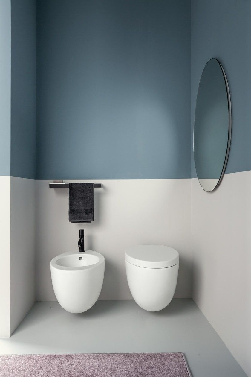 Peinture Pour Wc Ceramique wc suspendu en céramique le giare | wc suspenduceramica