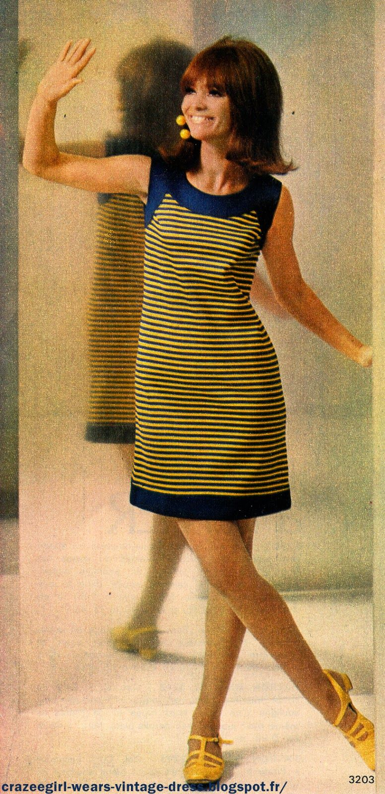 Robe jaune annee s influenced pinterest s s and