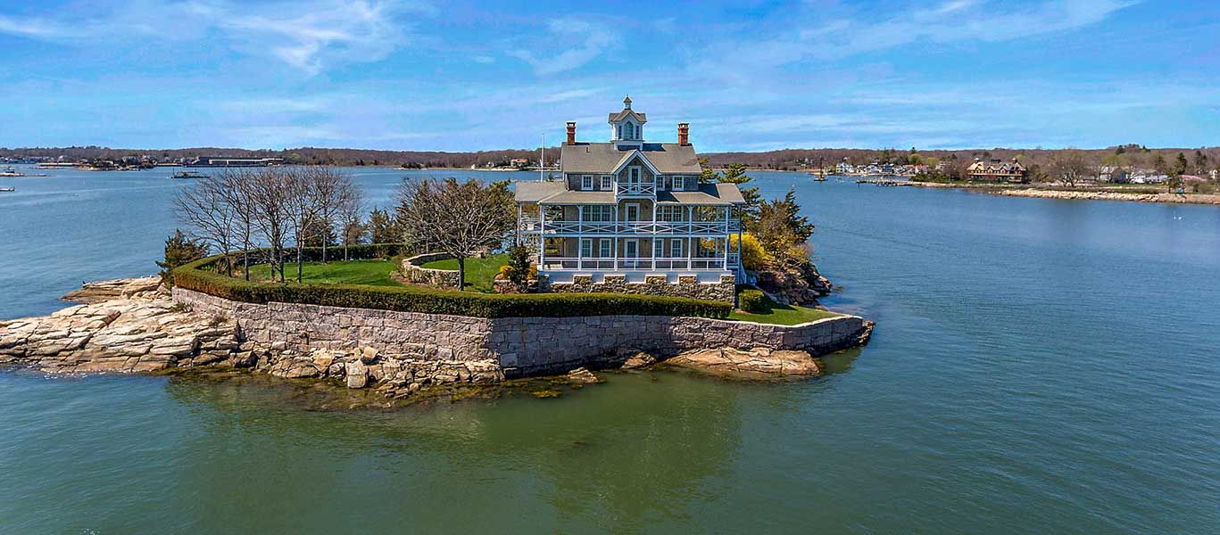 Detail Connecticut Usa Island House Styles