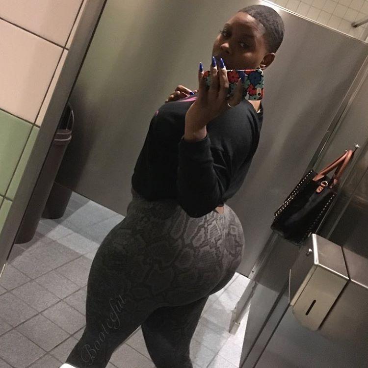 black Fat woman ass