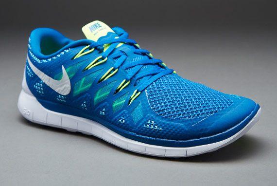 Nike Free 5.0 Bleu Blanc