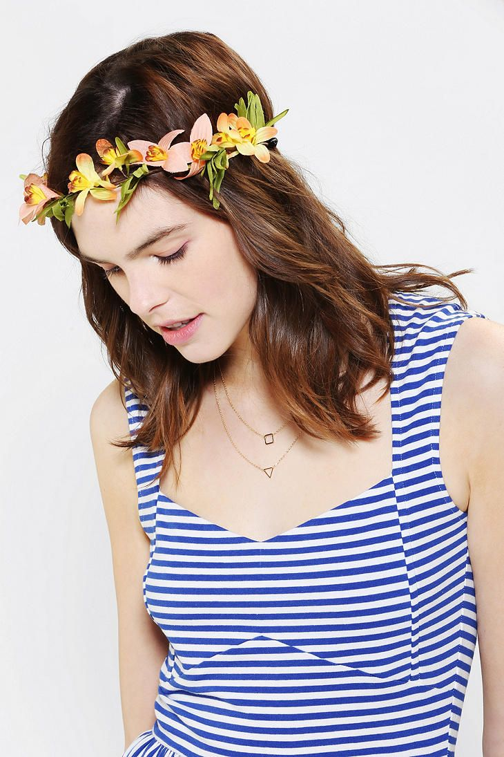 Tropical flower crown headwrap headbands and bows pinterest tropical flower crown headwrap izmirmasajfo