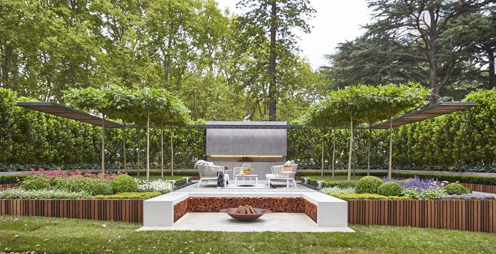 Landscape architect wins Melbourne Show Garden Gold Medal with living  pergola creation | Architecture And Design - Landscape Architect Wins Melbourne Show Garden Gold Medal With