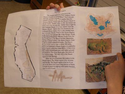 California Regions Brochures Upper Elementary Pinterest