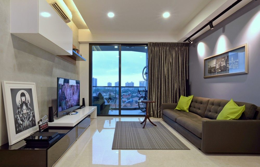 Living Room Design Ideas Singapore minimalist apartment in singapore with extensive city viewsqnq
