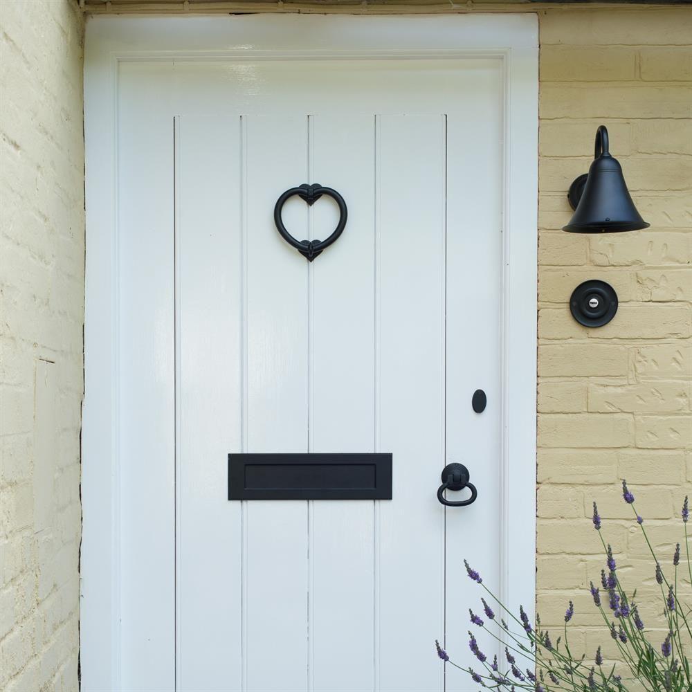 animal door knockers | Wooden bird door knocker on the ... |White Door Knocker