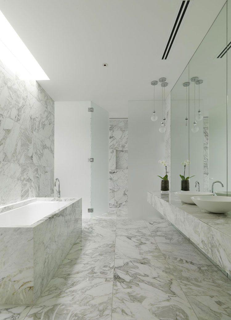 Bagni In Marmo Bianco 20 Idee Per Arredi Di Lusso