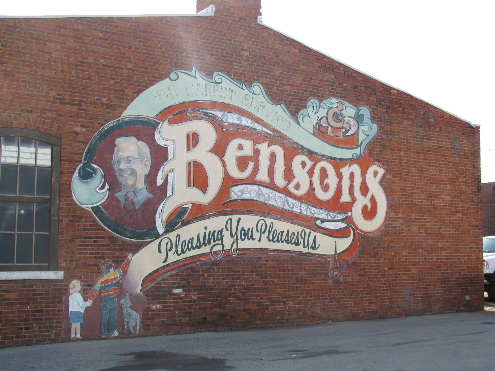 Cool old signs painted on buildings google search
