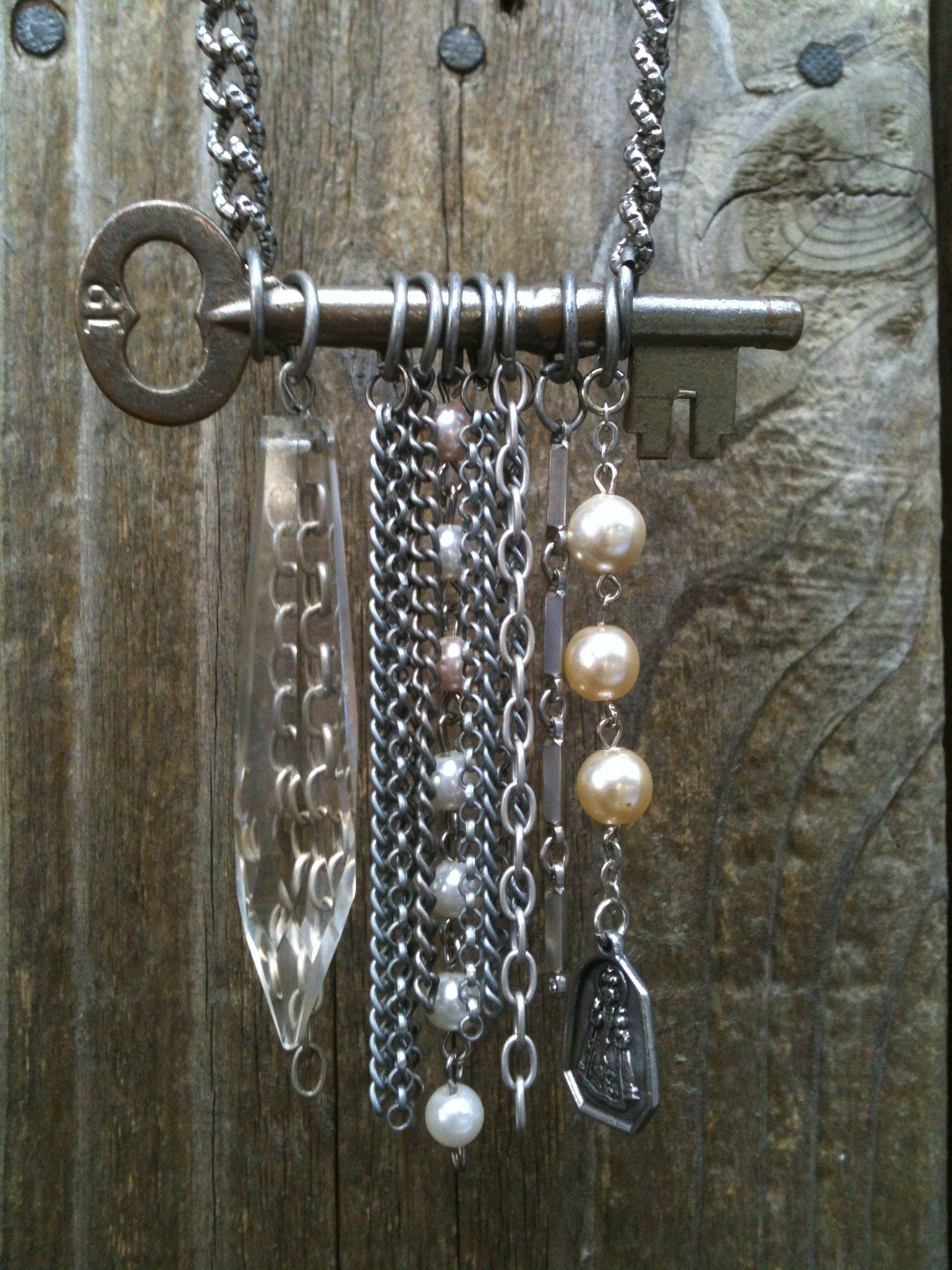 Key Necklace | jewelry | Pinterest | Schlüssel, Schmuck zum ...