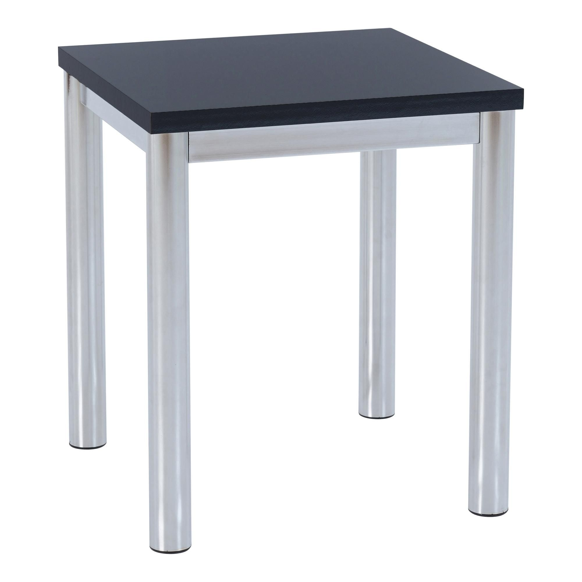 Charisma Side Table In 2020 Chrome Cube Side Table Table