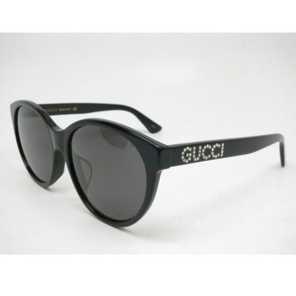 6d939626df Gucci GG0419SA 001 Black with Grey Sunglasses Everything we sell is 100%  authentic. PLEASE