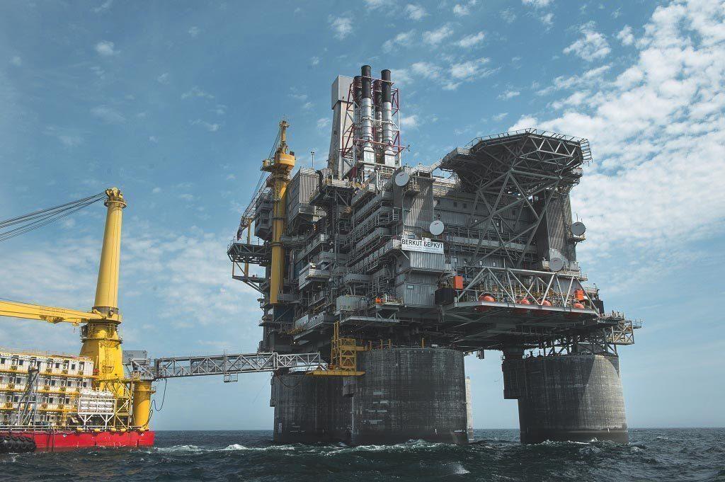 LinkedIn Oil platform, Oil rig, Oil and gas