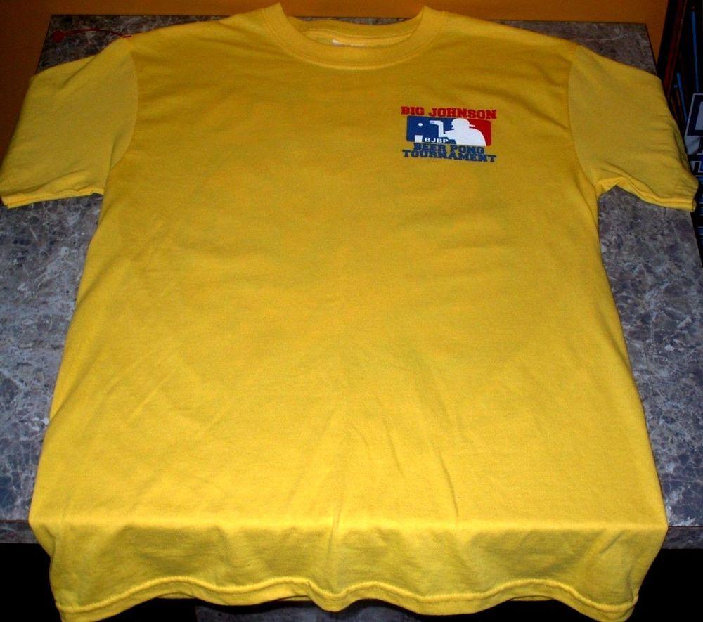 b06cd9e82 #funnyshirts Big Johnson - Beer Pong Tournament Drinking Funny Shirt  Small-Free USA Shipping