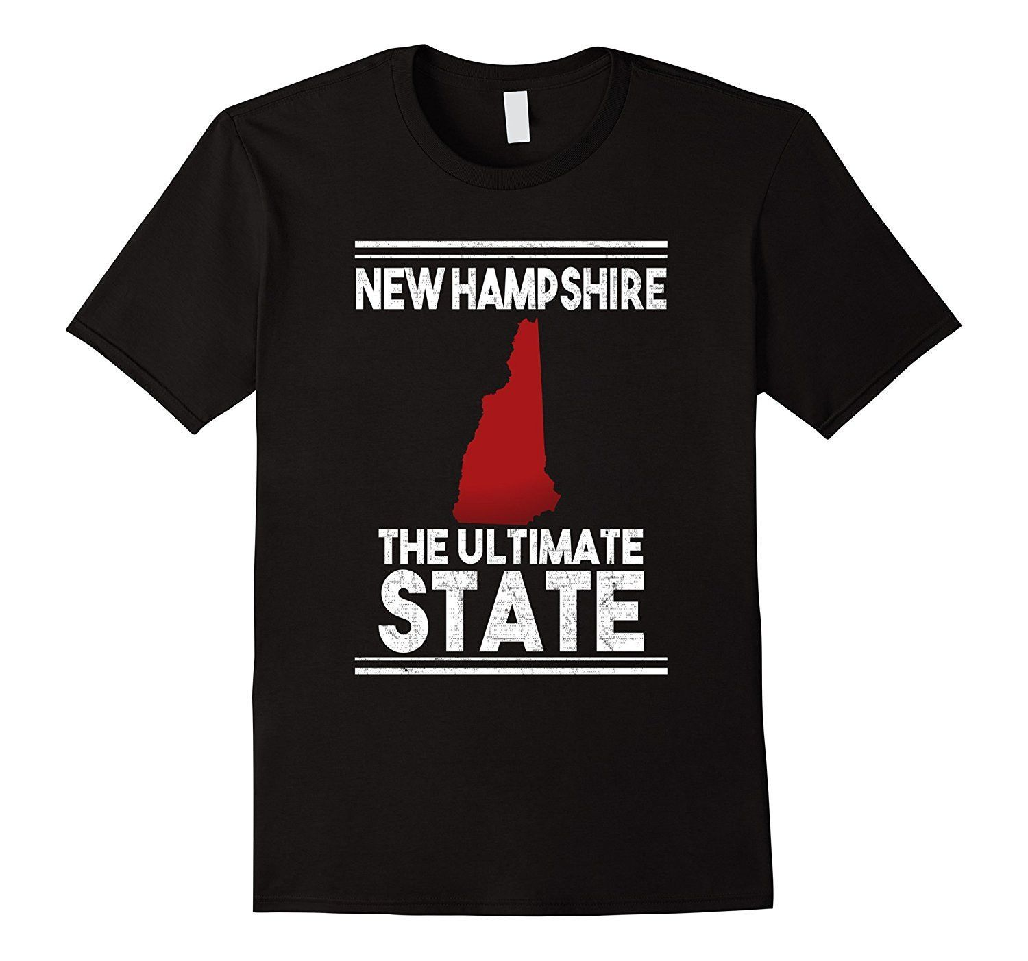 New Hampshire The Ultimate State American Pride TShirt American