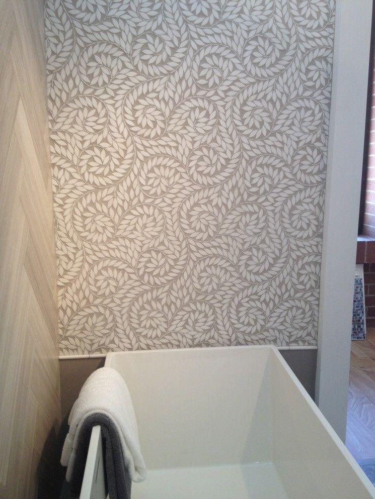Jacqueline Vine New Ravenna Marble Mosaic Tile Leaf