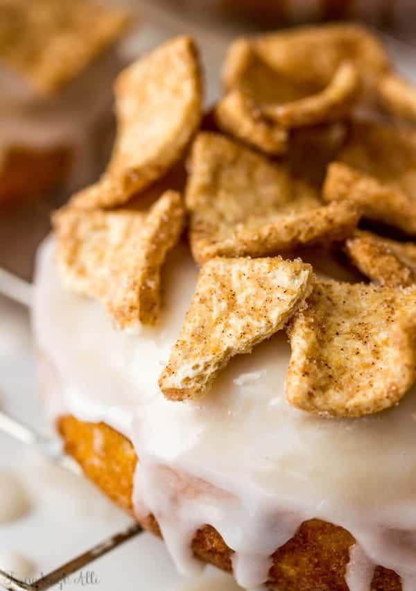 Cinnamon Toast Crunch Donuts - Tornadough Alli