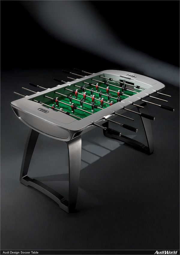 Table Tennis Room Design: Audi Design Soccer Table (With Images)