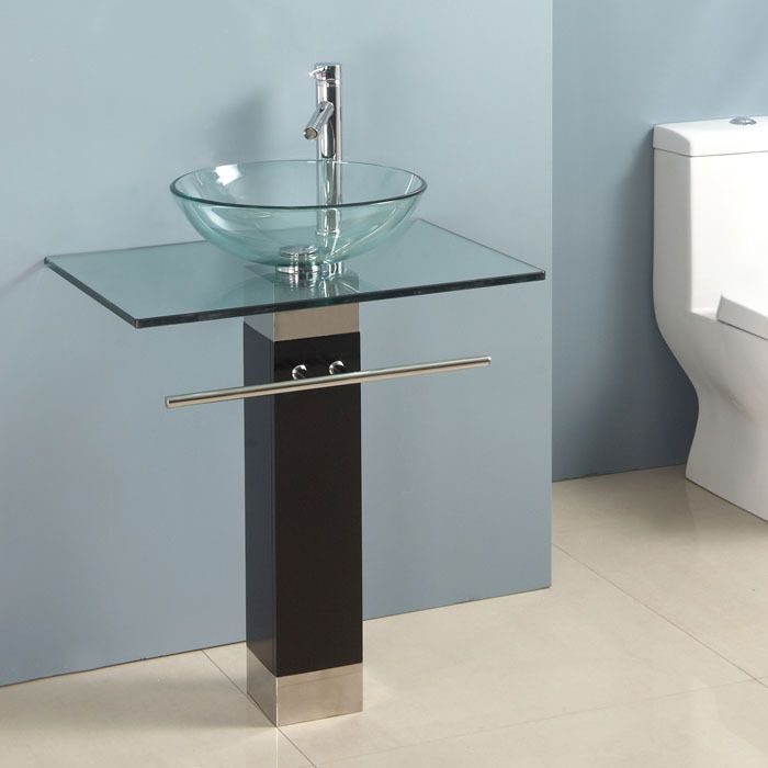sinks clear and sink tempered pinterest glass vessel bathroom i pin it inches bowl vanity with faucet like buff