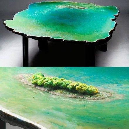 Fancy   Ocean Table By Gaetano Pesce