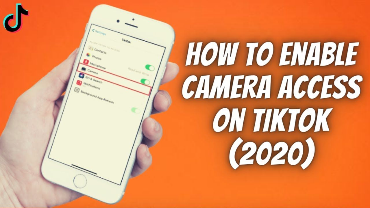 How To Enable Camera Access On Tiktok On Iphone Ipad 2020 Allow C Iphone Ipad Camera