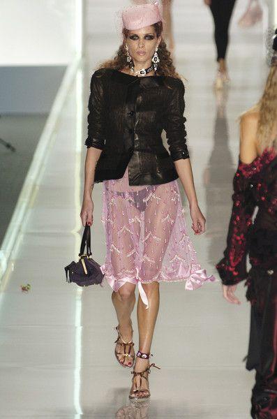Christian Dior at Paris Spring 2005