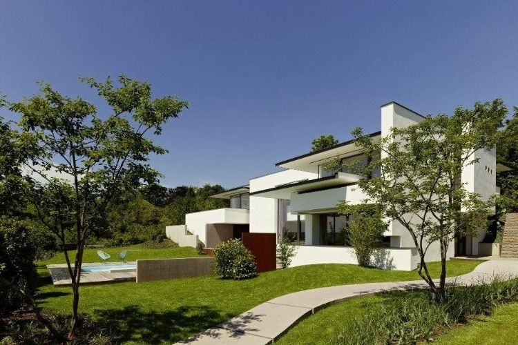 Vista House by Alexander Brenner Architects dream house - fachadas originales