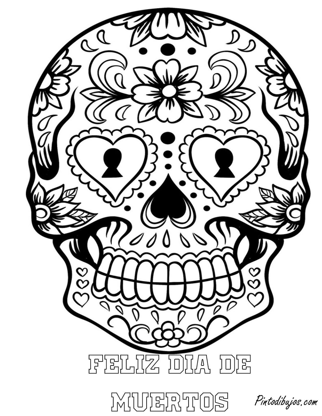 Feliz dia de muertos | mascara de calavera de dia de muertos | dia ...