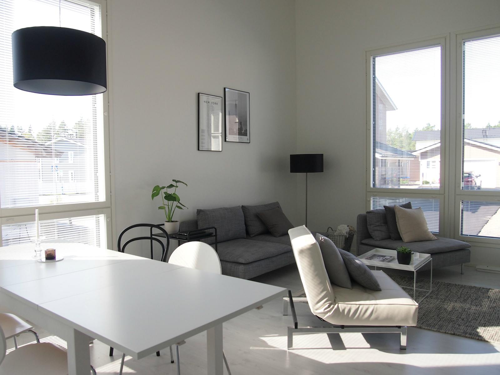 Hannas Home / livingroom / simple and modern / Scandinavian style