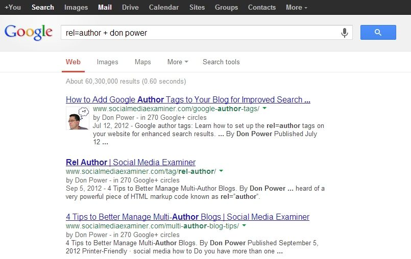 How to use the rel=author tag to claim authorship of your posts and improve your search engine optimization