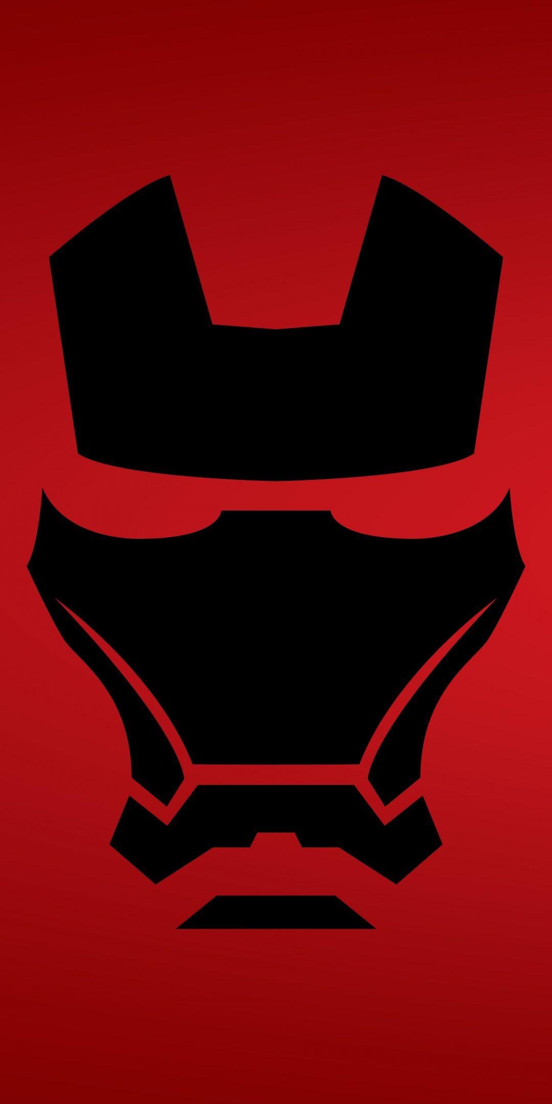 Iron Man Mask Dark Minimal 1080x2160 Wallpaper Iron Man Wallpaper Iron Man Iron Man Painting