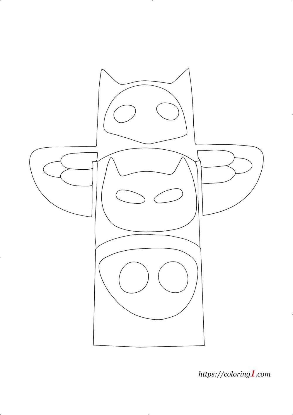 e99363d54992d9838bc859c266a7d126 » Christmas Color Pages Easy To Draw Pj Masks