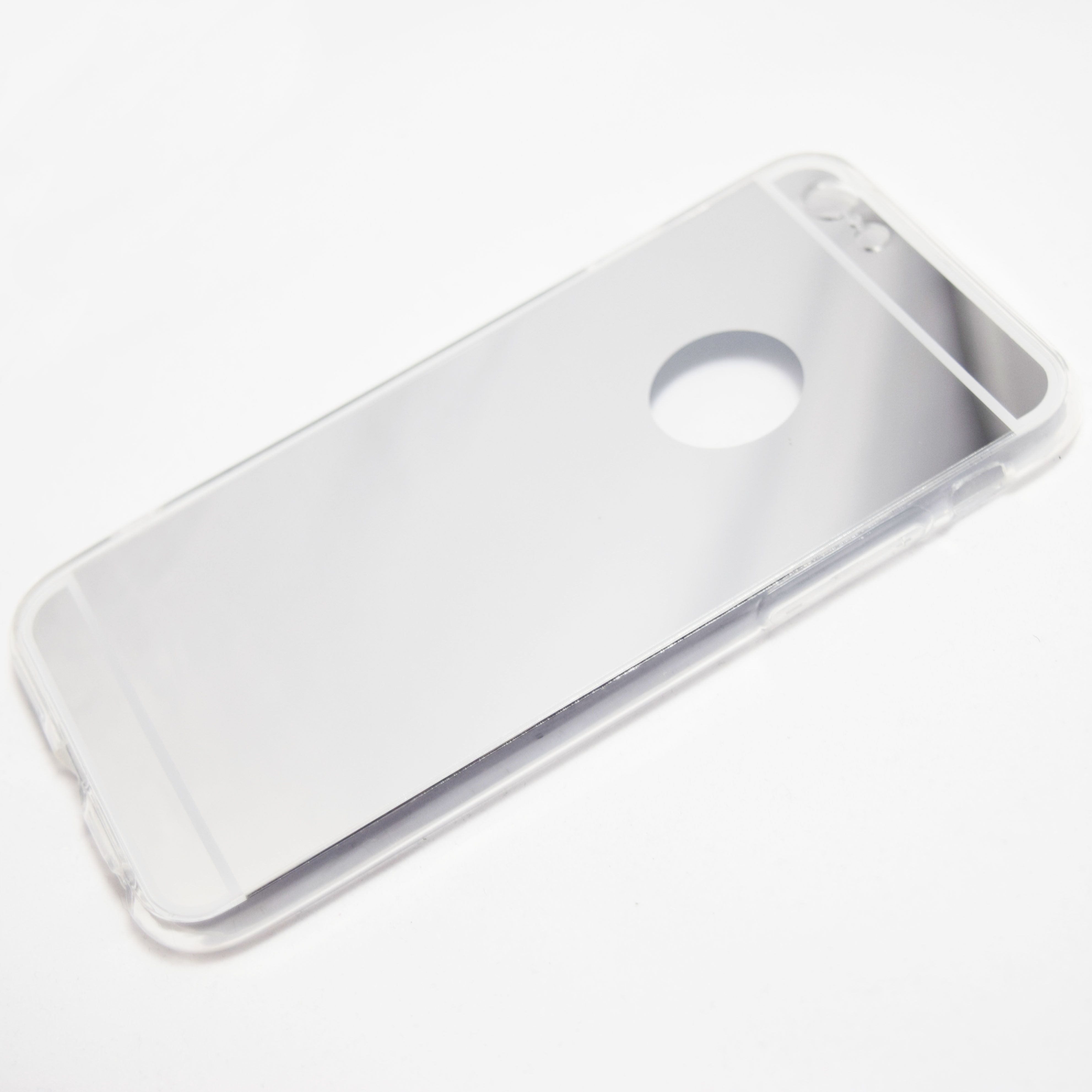 Silver iPhone 6 / iPhone 6S Reflective Mirror Case