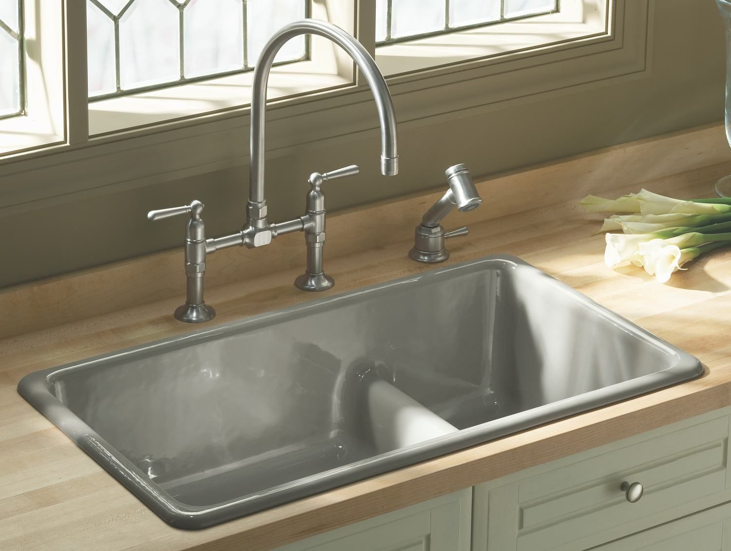 The 7 Different Types Of Kitchen Sinks With Images Kohler
