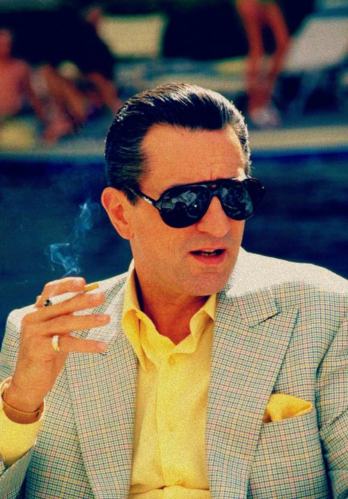 Robert De Niro in Casino.
