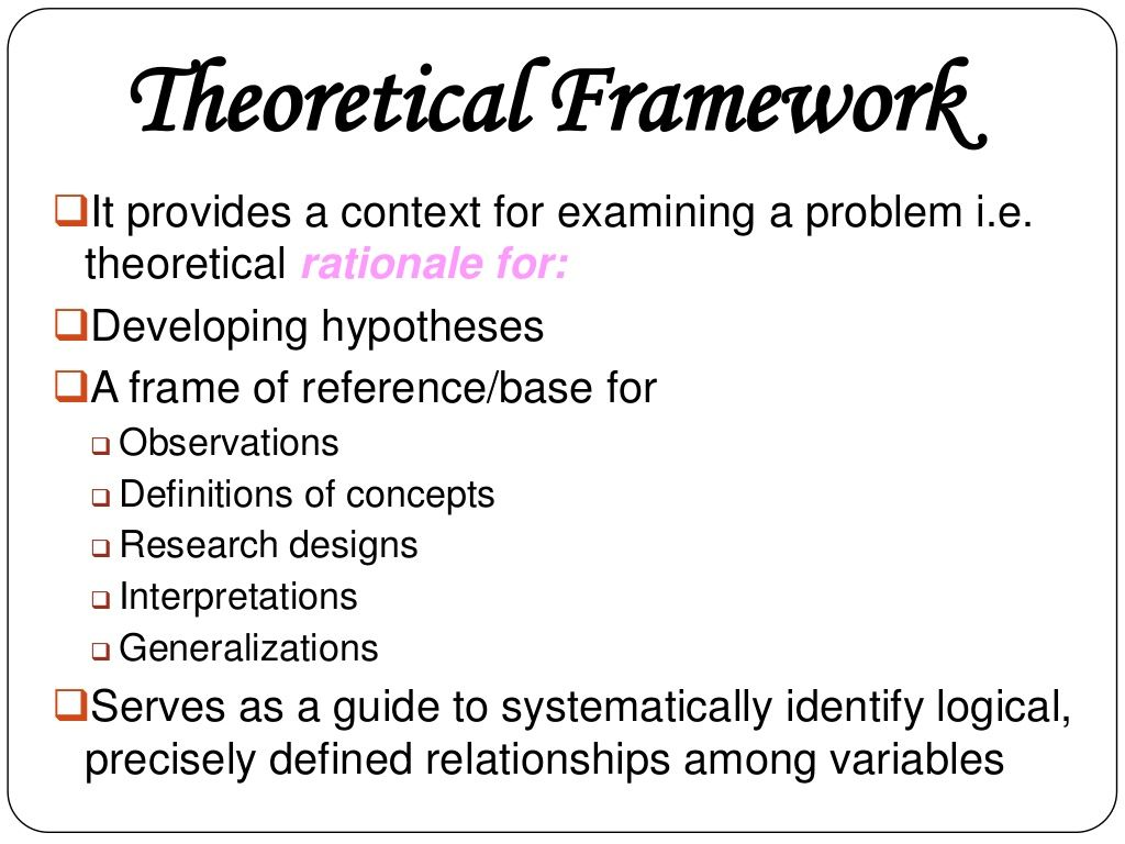 Conceptual And Theoretical Framework Research Paper Thesis Research Writing Social Science Research