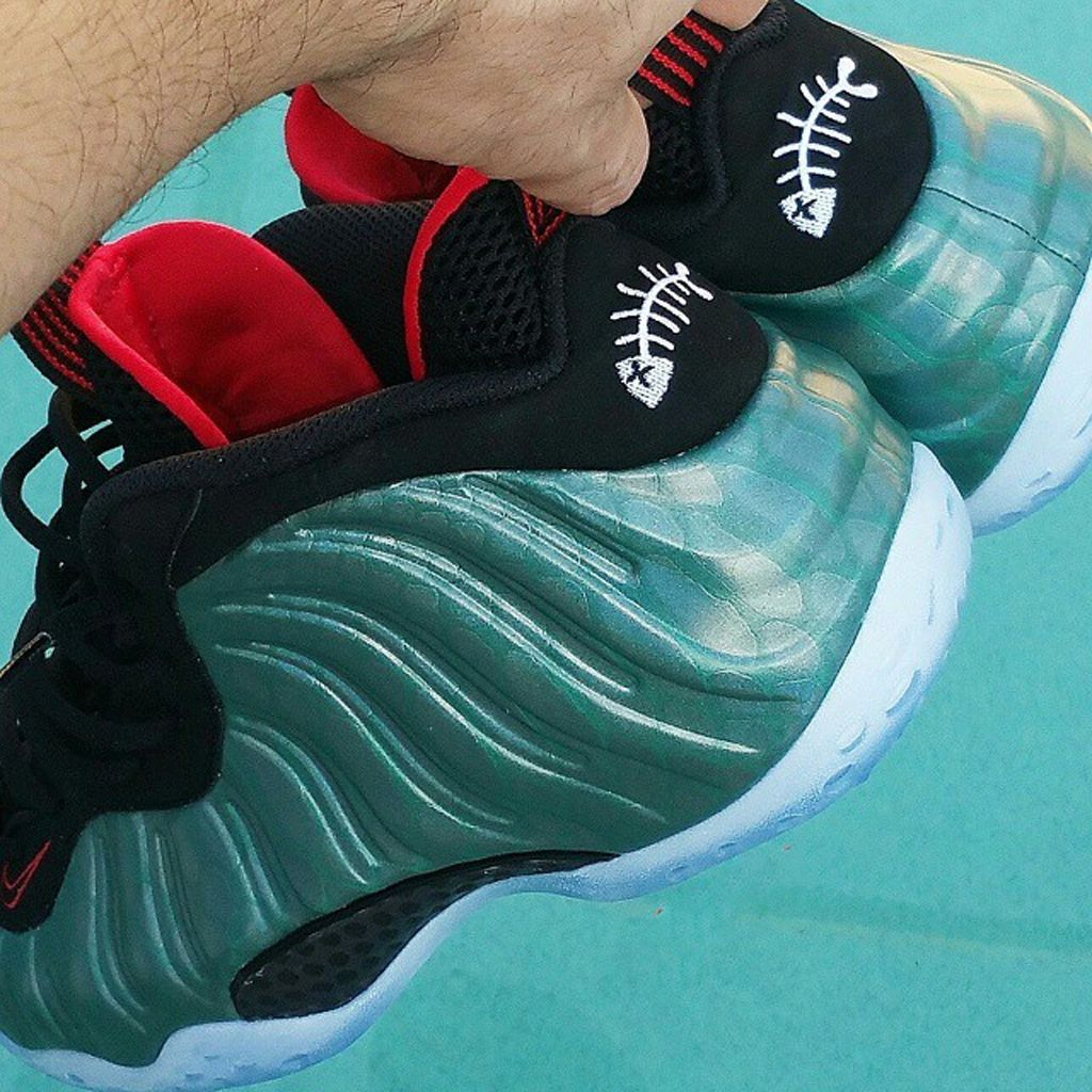 Celebrity Sneaker Watch: Wale in Nike Air Foamposite One ...
