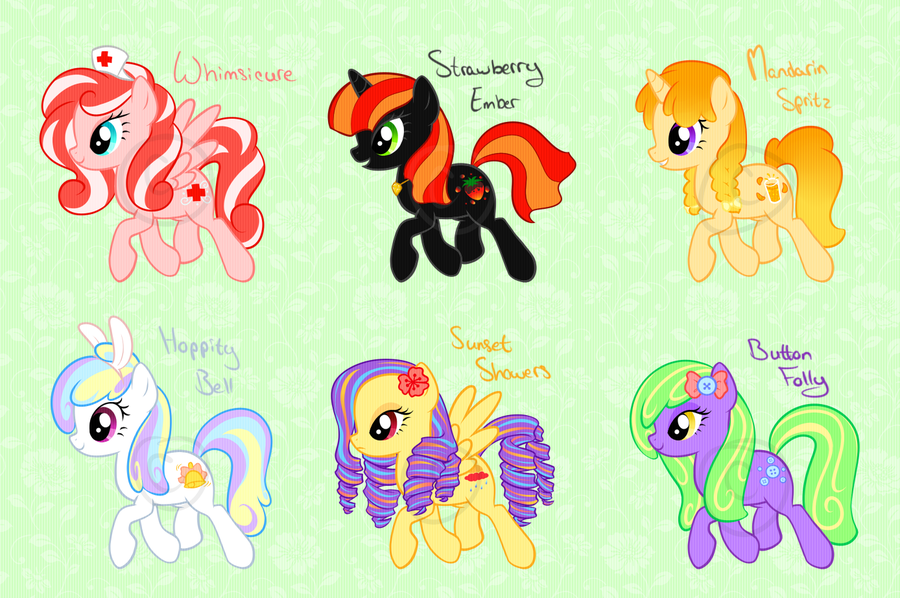 Boy Mlp Hairstyles: Pony Hairstyles Mlp