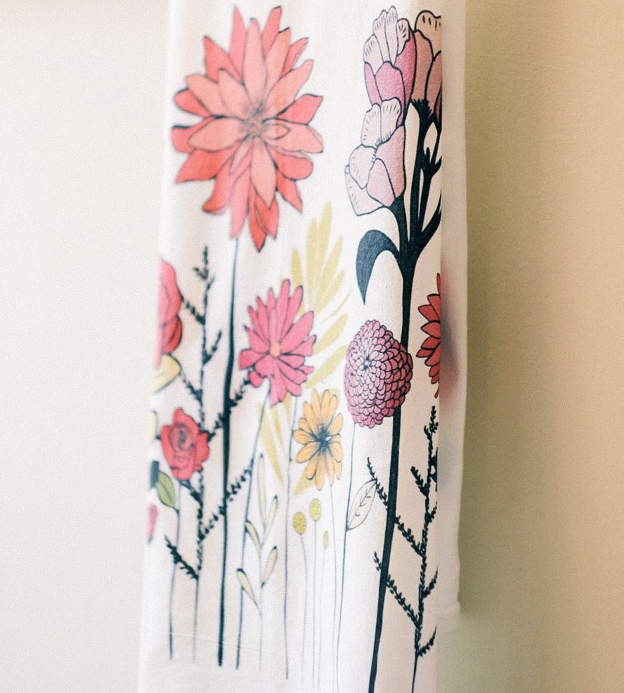 Etonnant Nava Floral Kitchen Towel