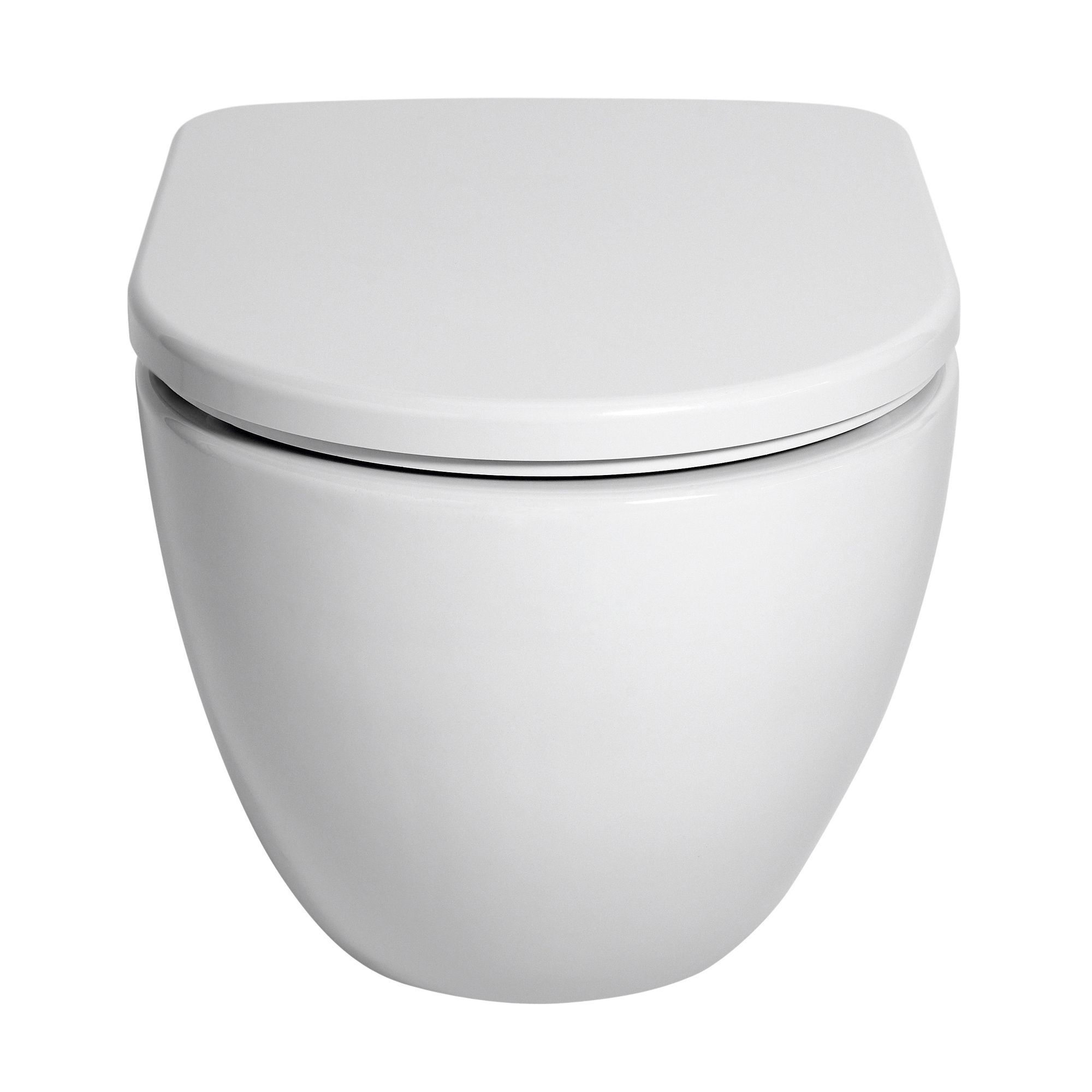 Cooke Lewis Helena Wall Hung Toilet With Soft Close Seat
