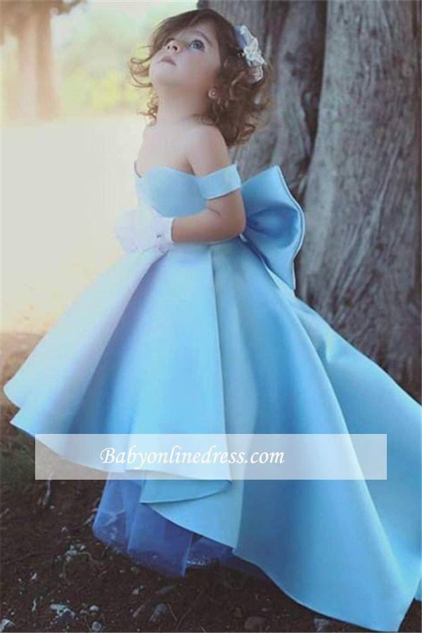Liebe Baby Blau Kleider für Blumenkinder Günstig ...