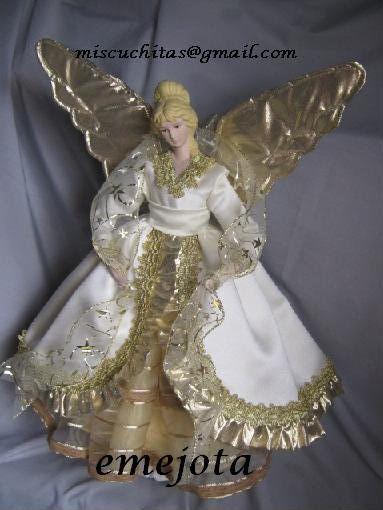Como hacer angel navidad buscar con google angeles - Angeles de navidad manualidades ...