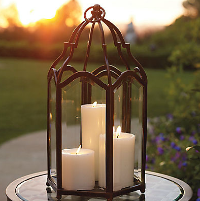 Frontgate constantine lantern outdoor candlesoutdoor lanternoutdoor lightinglighting
