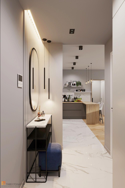 Фото прихожая из проекта «Квартира в современном стиле в ...
